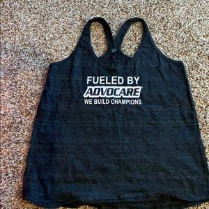 Tops - Fueled by AdvoCare racer back tank.